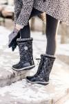 Дутики - модная зимняя обувь 2018!