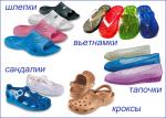 Силиконовая обувь - модная, современная, стильна обувь