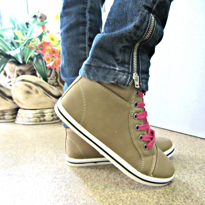 Купить модные ботинки на девочку в интернет магазине