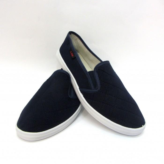 чоловічі кеди синім кольором - купити в інтернеті через сайт взуття