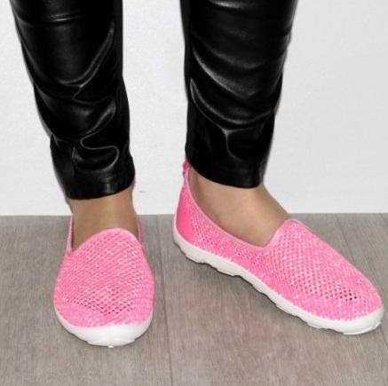 Летние яркие слипоны 4-312 - купить в интернет магазине удобную обувь для отдыха