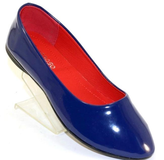 Туфли лаковые на девочку S103-2
