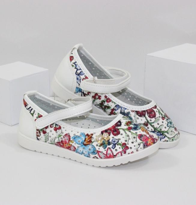 Детские белые туфельки - доступные цены, модные модели