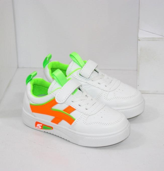 Купить недорого детские белые кроссовки со скидкой