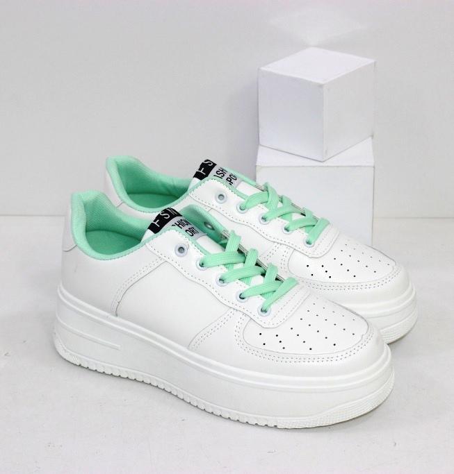 Купить белые женские кроссовки на толстой подошве