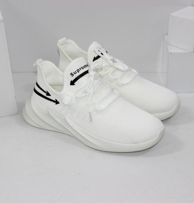 Купить белые модные кроссовки размеры 39 40 41 42 43 44