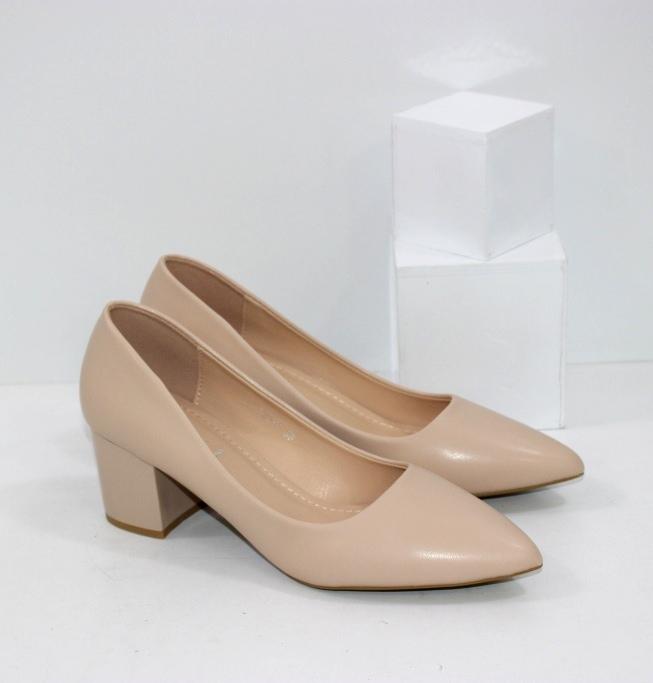 Купить недорого женские туфли лодочки бежевого цвета