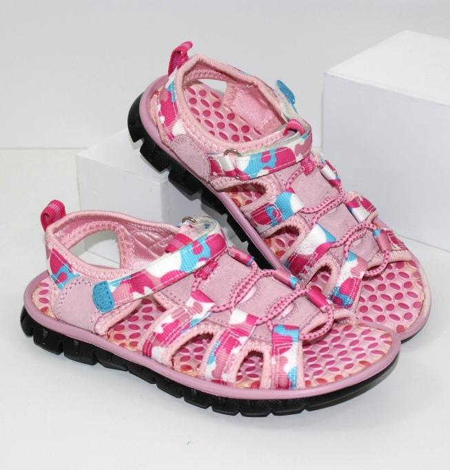 Босоножки для девочки 205-pink - купить в детский мир обувь для девочек