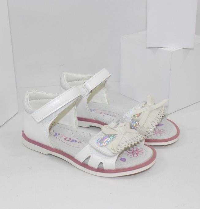 Белые босоножки на девочек купить в интернет магазине Городок