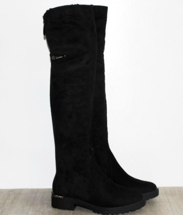 Жіночі чоботи - ботфорти