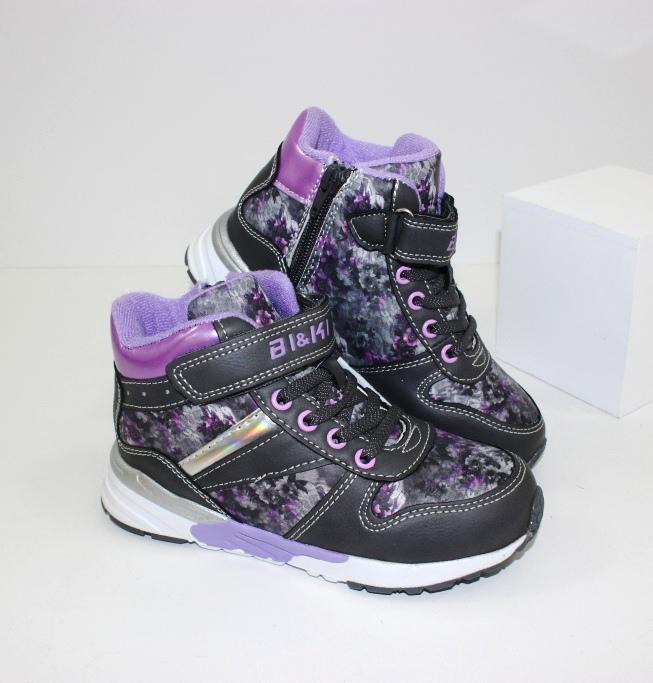 Оригинальные детские ботинки для девочек 2002A - купить в интернет магазин обуви в украине
