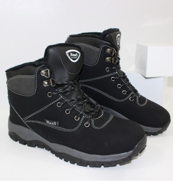 Купить осенняя мужская обувь BAAS 301black. Мужчинам - Городок