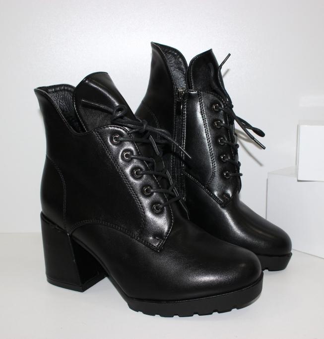 Мега стильные ботинки SL9196-1- зимние ботинки на танкетке купить в недорогом интернете