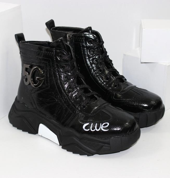 Мягкие лаковые кроссовки для женщин и девочек подростков