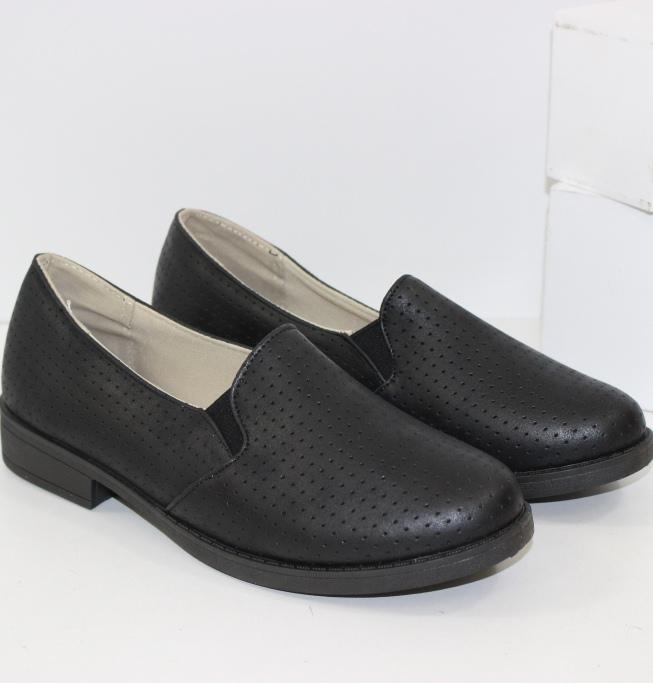 Купить женские туфли на устойчивом каблуке в Днепре