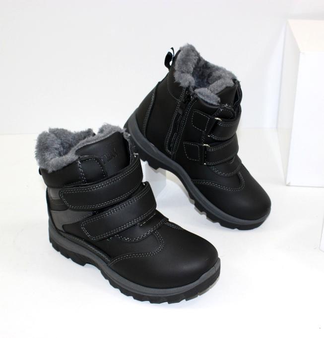 Зимние ботинки для мальчика C887 - купить в интернет магазине украина недорого
