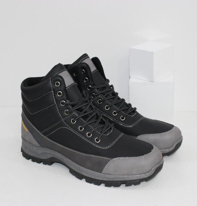 Купить мужские осенние ботинки в черном цвете