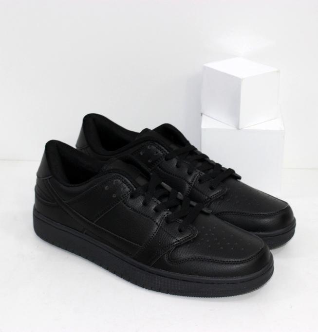 Купить мужские осенние кроссовки черные