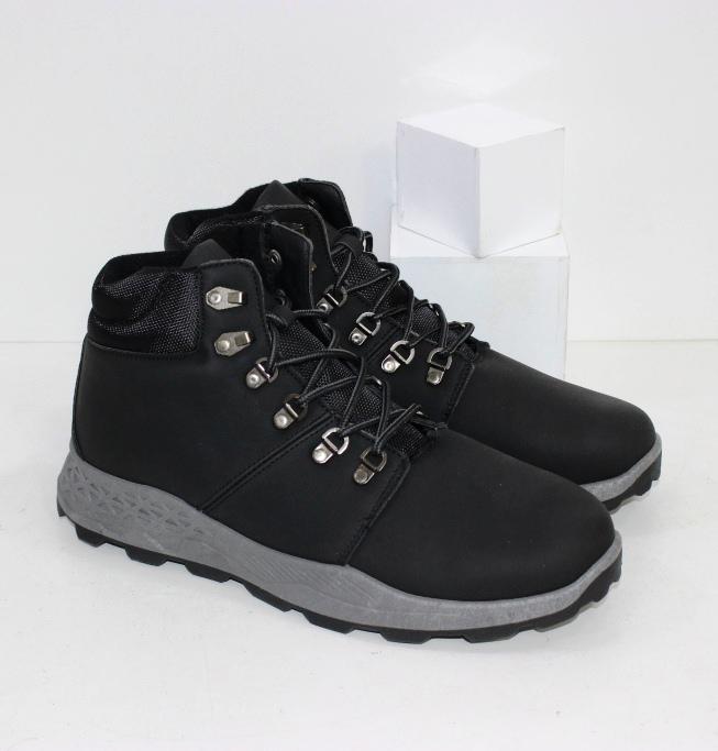 Купить черные мужские ботинки на осень