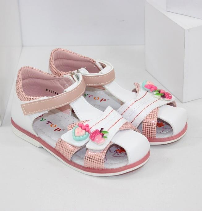 Детские босоножки на девочек купить недорого на сайте обуви