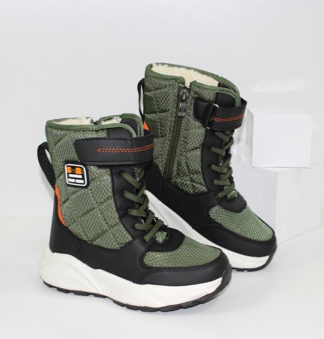 Зимние ботинки для мальчика качественные и недорого
