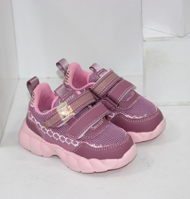 Купить красивые детские кроссовки для девочек на 2 двух липучках