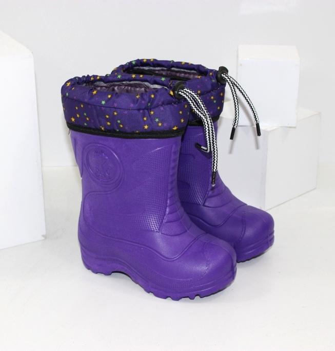 Дитячі зимові чоботи з піни ЕВА для дівчаток