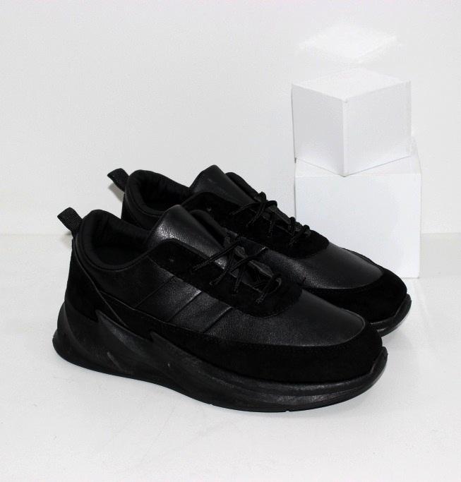 Купить недорого модные кроссовки черные на мальчика подростка