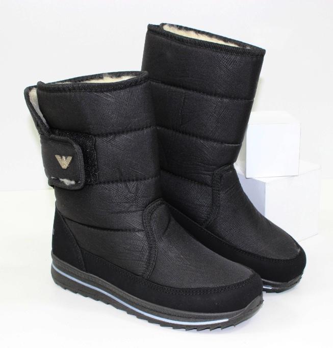 Жіночі зимові чоботи дутики дешево