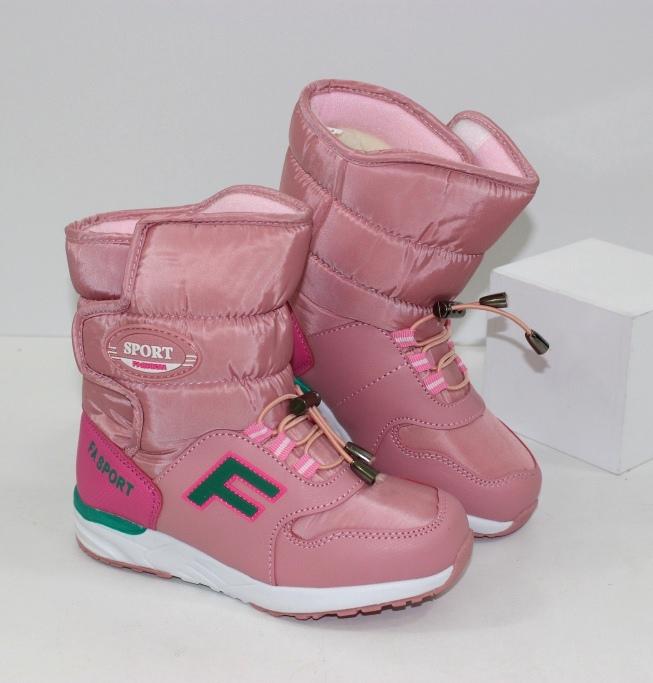 Зимові черевики для дівчинки дешево