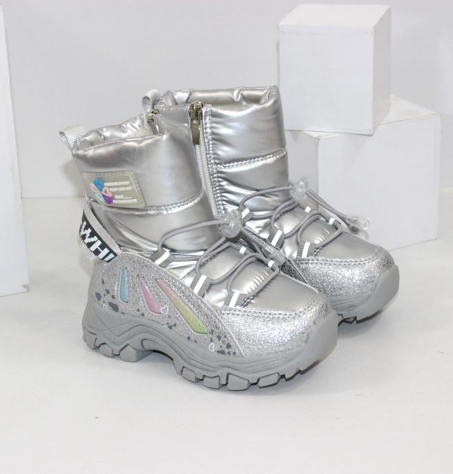 Дутики для девочек модная детская обувь 2021