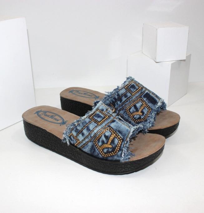 Джинсовые шлепанцы, балетки, туфли - модная обувь!