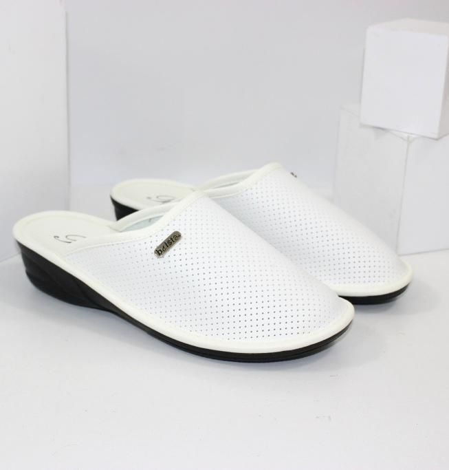 Купить домашние тапочки женские Белста 709-белый. Женщинам - Городок