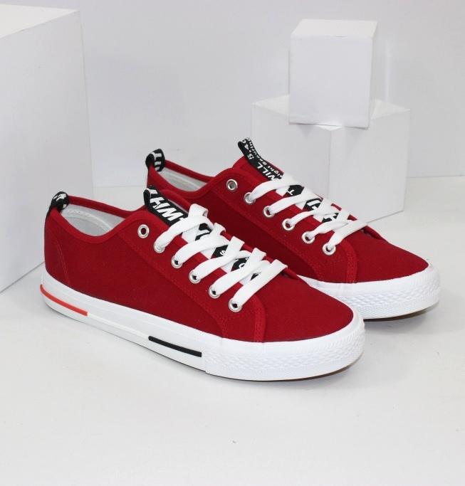 Купити кеди жіночі червоні на сайті взуття інтернет магазин Городок