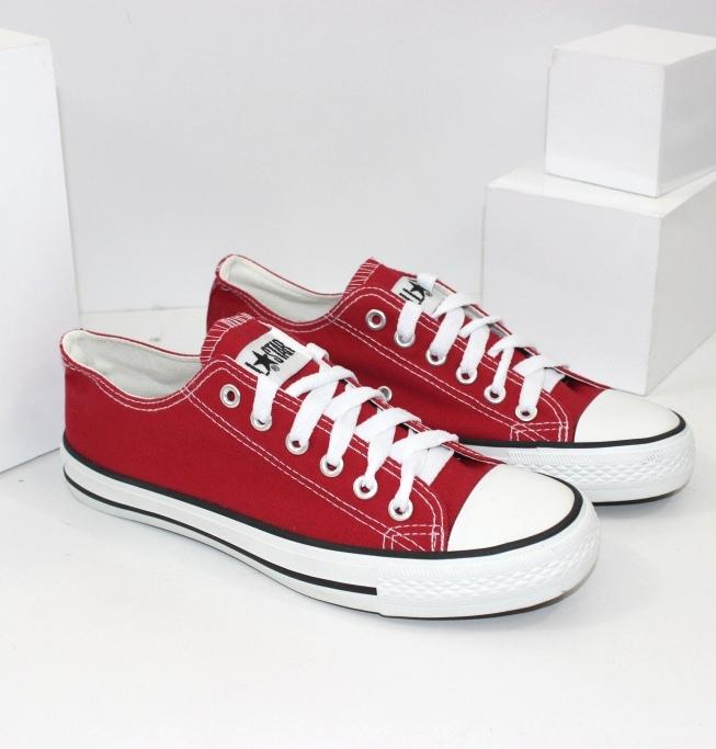 Купить подростоковые кеды для мальчиков размеры 35-42 City OB4614-красный. Детям - Городок