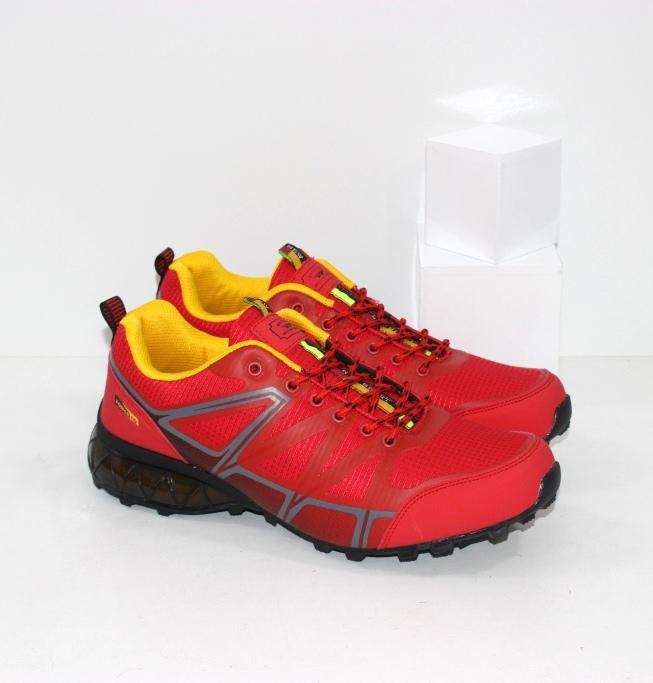 Купить недорого красные мужские кроссовки известного бренда