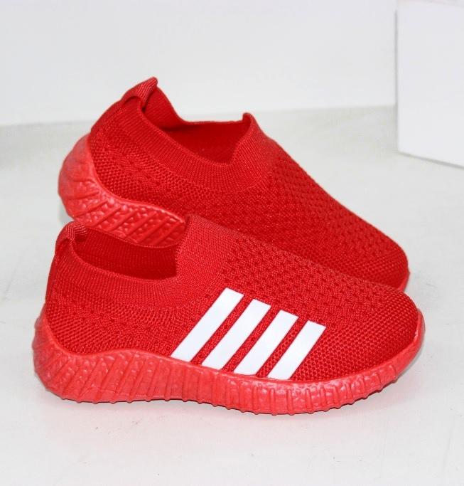 Кросівки червоні текстильні дитячі