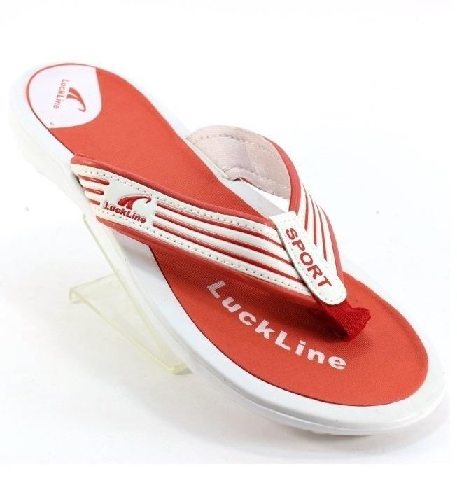 Вьетнамки 4880-2 бело красный - купить в Украине через интернет