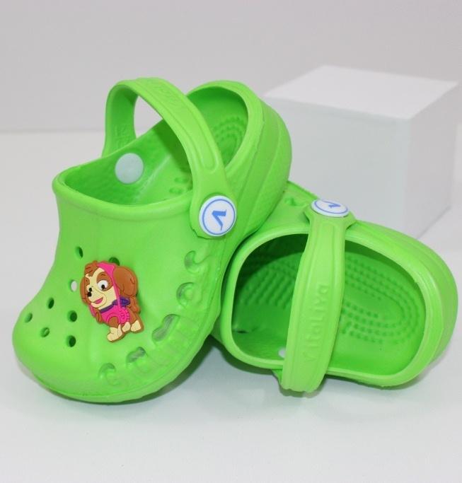 Оригинальные модели детских кроксов уже в продаже