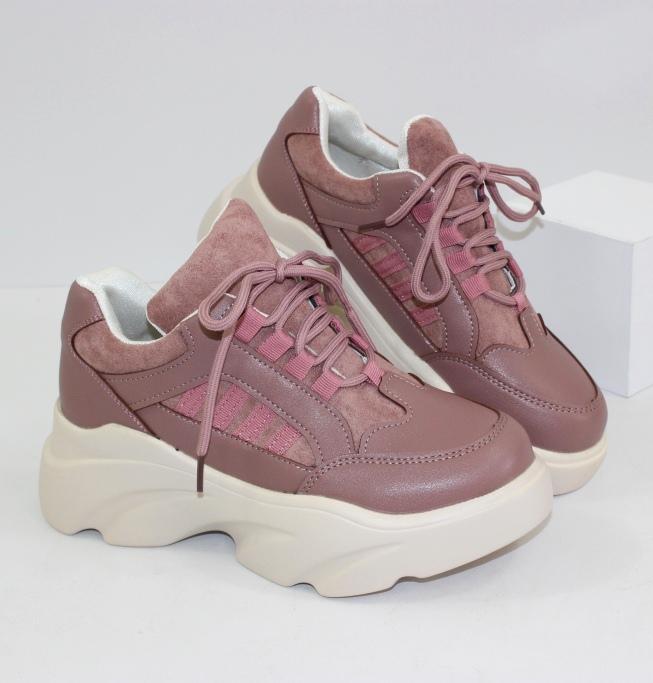 Модные трендовые кроссовки A6pink - купить со скидкой в интернет магазине