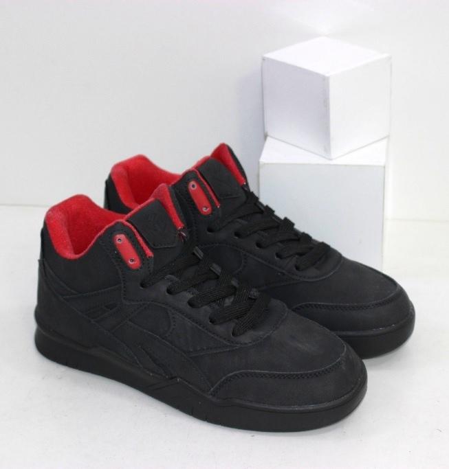Купить женские высокие кроссовки черные на черной подошве