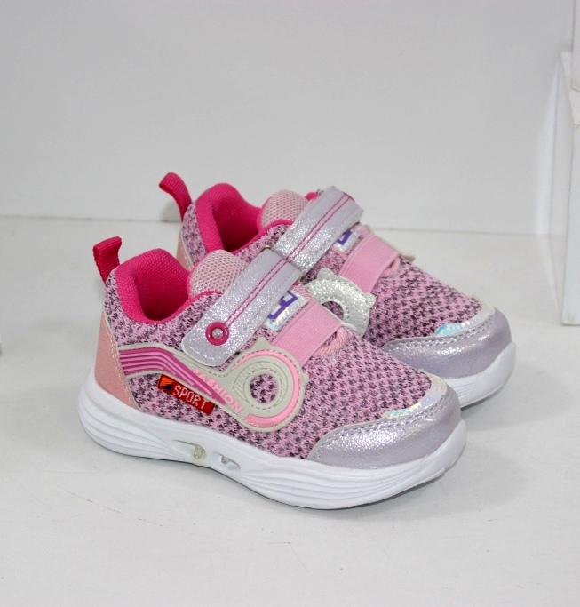 Купить детские летние кроссовки с фонариками на девочку