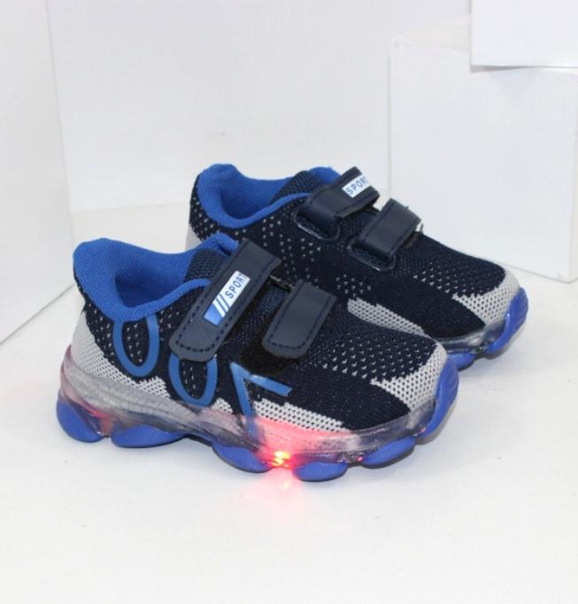 Дитячі кросівки для хлопчика з ліхтариками. Новинки для хлопчаків!
