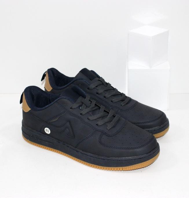 Купить качественные мужские кроссовки из синего нубука