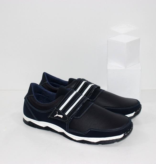 Купить недорого мужские спортивные туфли на липучке
