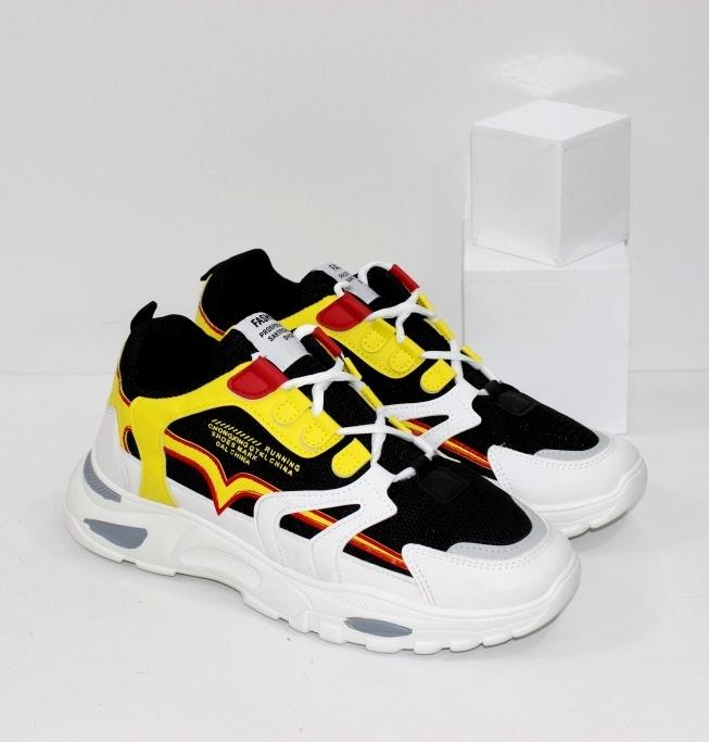 Купить недорого цветные кроссовки для мужчин и женщин с чёрной сеткой