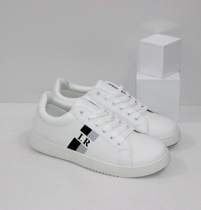 Купить мужские кроссовки белые на плоской подошве размеры 40 41 42 43 44 45