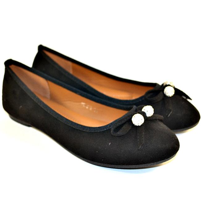 Чорні балетки жіночі - розпродаж недорого взуття в інтернет магазині Городок