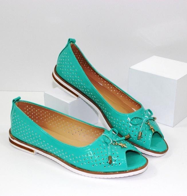 Ажурные балетки - летняя обувь в самом модном интернет-магазине Городок