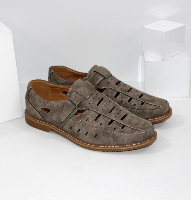 Летние комфортные туфли больших размеров A2063-7 - купить через интернет магазин недорого